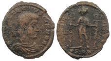 Ancient Coins - Constantius Gallus, as Caesar 351-354 A.D. AE2 Sirmium Mint Good Fine