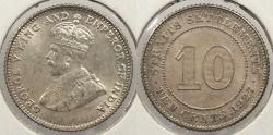 World Coins - STRAITS SETTLEMENTS: 1927 10 Cents