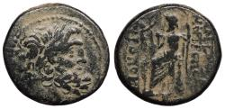 Ancient Coins - Syria Seleucis and Pieria Antioch Pseudo-autonomous Coinage Caesarian Era (47-19/18 B.C.) Large Denomination Antioch Mint Good Fine