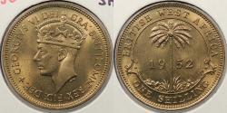 World Coins - BRITISH WEST AFRICA: 1952-H Shilling