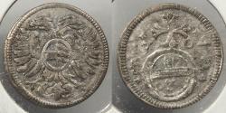 World Coins - GERMAN STATES: Silesia 1704 3 Pfennig