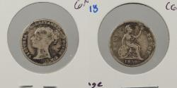 World Coins - GREAT BRITAIN: 1849 Fourpence