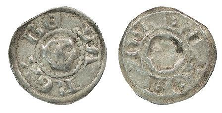World Coins - HUNGARY Bela III or IV 1173- 1196 / 1235- 1270 Bracteate VF