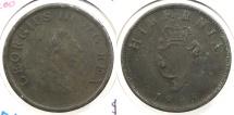 World Coins - IRELAND: 1805 Half Penny