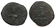 World Coins - ITALY Sicily Roger II (Ruggero) 1130-1154 (as king) Follaro Near VF