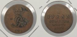 World Coins - GERMAN STATES: Brunswick-Lun.-Cal.-Hannover 1776 Pfennig