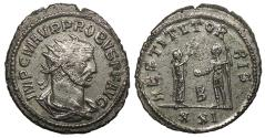 Ancient Coins - Probus 276-282 A.D. Antoninianus Antioch Mint EF
