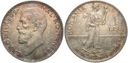 World Coins - ROMANIA: 1912 1 Leu