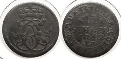 World Coins - GERMAN STATES: Cologne 1749-IK 2 Stuber