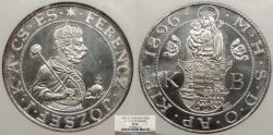 World Coins - HUNGARY Franz Josef I 1896 Restrike Taler (Thaler) NGC PF-66