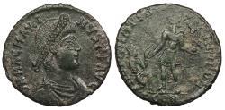 Ancient Coins - Magnus Maximus 383-388 A.D. AE2 Arelate Mint EF