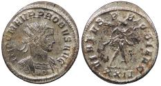 Ancient Coins - Probus 276-282 A.D. Antoninianus Siscia Mint Near EF