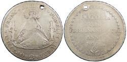 World Coins - BOLIVIA Ferdinand (Fernando) VII 1808 Proclamation 8 Reales Good VF