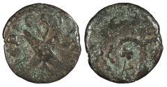 Ancient Coins - Judaea Roman Procurators Antonius Felix, under Claudius 52-59 A.D. Prutah About Fine
