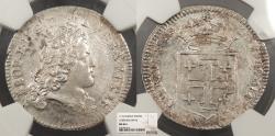 World Coins - GERMAN STATES Lothringen (Lorraine) Leopold Joseph, the Good 1716 Teston NGC MS-62+