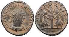 Ancient Coins - Valerian I 253-260 A.D. Antoninianus Antioch Mint VF