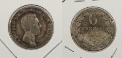World Coins - GERMAN STATES: Baden 1837 Rare. 6 Kreuzer