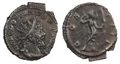 Ancient Coins - Postumus 259-268 A.D. Antoninianus Cologne Mint Near EF