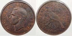 World Coins - NEW ZEALAND: 1942 Penny