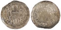 World Coins - ITALY Aquila (Aquileia) Raimondo Della Torre 1273-1299 Denaro AU