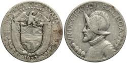 World Coins - PANAMA: 1933 1 Decimo