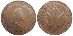 World Coins - GREAT BRITAIN Buckinghamshire Aylesbury William Lutwyche 1796 AE Halfpenny Token AU