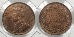 World Coins - CANADA: 1917 George V Cent