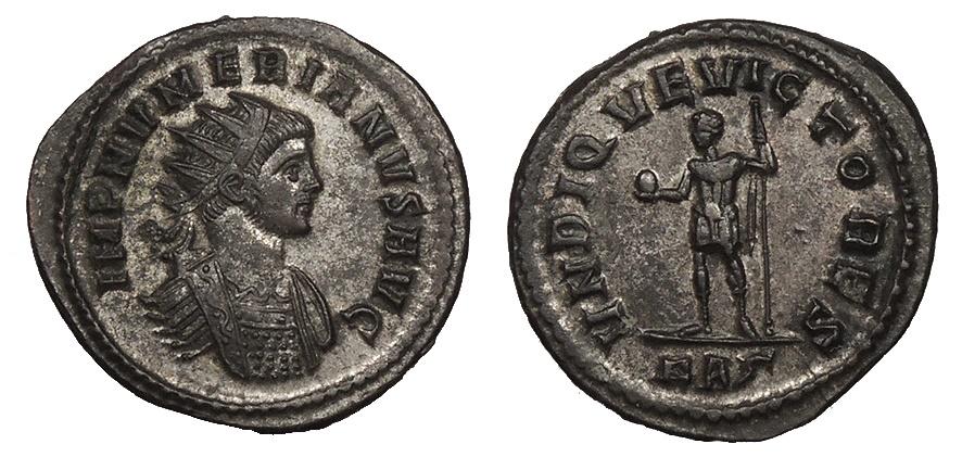 Ancient Coins - Numerian 283-284 A.D. Antoninianus Rome Mint EF