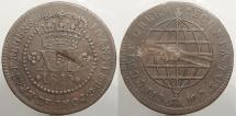 World Coins - BRAZIL: 1815-R 40 Reis