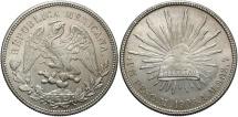 World Coins - MEXICO: 1908 MO/AM 1 Peso