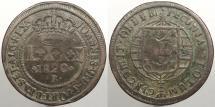 World Coins - BRAZIL: 1820-B 80 Reis