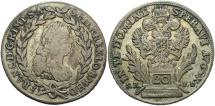 World Coins - HUNGARY: 1765 BN 20 Krajczar
