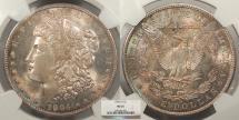 Us Coins - 1904 O Morgan 1 Dollar (Silver) NGC MS-65
