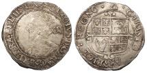 World Coins - ENGLAND Charles I 1625-1649 Shilling 1639-1640 EF