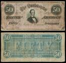 Us Coins - Richmond, VA Feb 17, 1864 50 Dollars