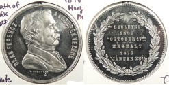 World Coins - HUNGARY: 1876 Hanger Medal
