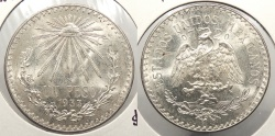 World Coins - MEXICO: 1933-M Peso
