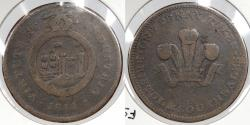 World Coins - GREAT BRITAIN: Bristol 1811 Penny