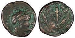 Ancient Coins - Aeolis Elaia 2nd-1st Century B.C. AE15 VF