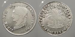 World Coins - BOLIVIA: 1853-Potosi MJ 4 Soles