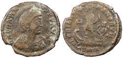 Ancient Coins - Gratian 367-383 A.D. AE2 Nicomedia Mint VF