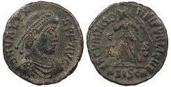 Ancient Coins - Valens 364-378 A.D. AE3 Siscia Mint VF