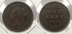 World Coins - CANADA: 1899 Victoria Cent