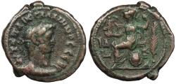 Ancient Coins - Egypt Alexandria Gallienus 253-268 A.D. Tetradrachm Alexandria Mint VF Includes collector's ticket citing 'Wildwinds Plate Coin'