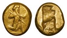 Ancient Coins - Achaemenid Kings Time of Darios I-Xerxes II 485-420 B.C. Daric Good VF