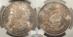Us Coins - 1904 O Morgan 1 Dollar (Silver) NGC MS-65