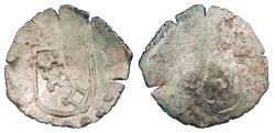 World Coins - GERMAN STATES Worms  Free City- Anonymous Civic Issue  Schüsselpfennig ('bowl' Pfennig) Ca. 1570  EF