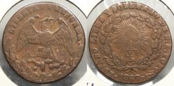 World Coins - MEXICO: San Luis de Potosi 1867 1/4 Real