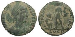 Ancient Coins - Magnus Maximus 383-388 A.D. AE2 Lugdunum Mint Good Fine