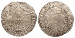 World Coins - GERMAN STATES Trier Kuno II von Falkenstein 1362-1388 Doppelschilling 1376 EF